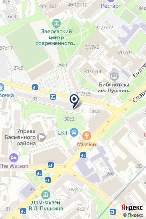 СТРОИТЕЛЬНАЯ КОМПАНИЯ АБС СТРОЙ на карте Москвы