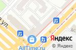 Схема проезда до компании Оптика Этли в Москве