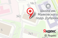 Схема проезда до компании Слз Инвест в Москве