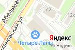 Схема проезда до компании Мастер-ключ в Москве