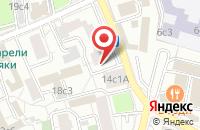 Схема проезда до компании Типография Левко в Москве