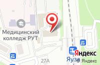 Схема проезда до компании Загородный Мир в Москве