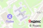 Схема проезда до компании Средняя общеобразовательная школа №947 с дошкольным отделением в Москве