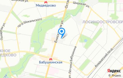 Местоположение на карте пункта техосмотра по адресу г Москва, проезд Староватутинский, д 10 стр 2