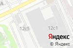 Схема проезда до компании Пролетарец в Москве