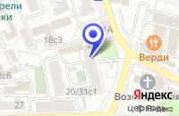 Схема проезда до компании МУЗЕЙ СОВРЕМЕННОГО ИСКУССТВА ГАЛЕРЕЯ НИКОР в Москве