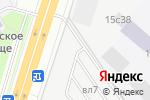 Схема проезда до компании Граница в Москве
