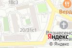 Схема проезда до компании Konsalt Expert в Москве