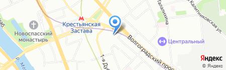 Бэт Тур на карте Москвы