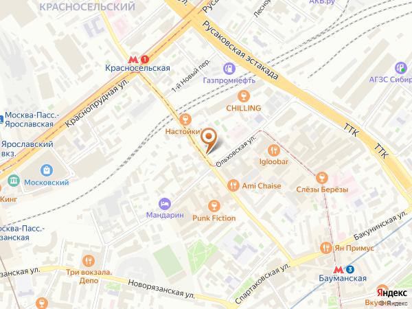 Остановка «Ольховская ул.», Нижняя Красносельская улица (4168) (Москва)
