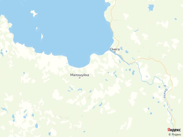 поселок Низ на карте