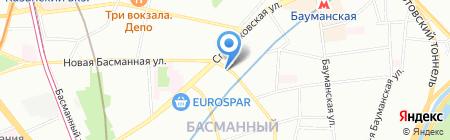 Академия Жилья на карте Москвы