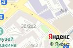 Схема проезда до компании Wedding Consult в Москве