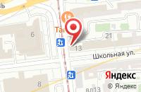 Схема проезда до компании Кинокомпания  в Москве