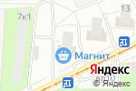 Схема проезда до компании Золотая Линия в Москве