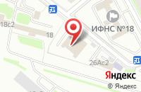 Схема проезда до компании Эко-Дом в Москве
