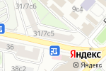 Схема проезда до компании МЕГА МАСТЕР в Москве