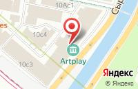 Схема проезда до компании Инартис в Москве