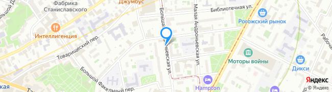 Большая Андроньевская улица