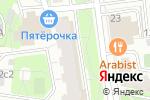 Схема проезда до компании Право слово в Москве