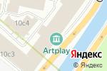 Схема проезда до компании Квартиролог в Москве