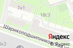 Схема проезда до компании Институт инновационного развития и повышения квалификации в сфере здравоохранения в Москве
