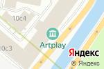 Схема проезда до компании Уника-дизайн в Москве