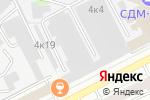 Схема проезда до компании Каскад-Сервис в Москве