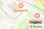 Схема проезда до компании Эвэрест в Москве