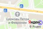 Схема проезда до компании Храм Покровского монастыря святых благоверных Петра и Февронии в Москве