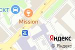 Схема проезда до компании Московская городская экспертно-консультативная комиссия по основаниям в Москве