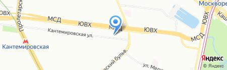 BILLA на карте Москвы