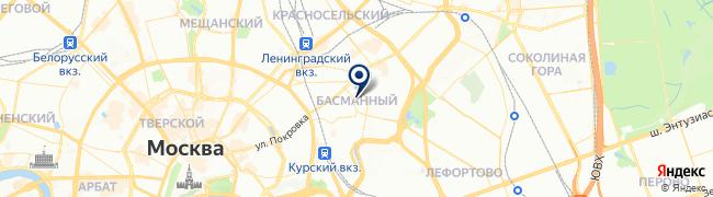 Расположение клиники Медицинский центр Елены Малышевой