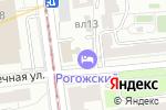 Схема проезда до компании Магазин сувенирной продукции в Москве