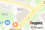 Схема проезда до компании Hauberk Auto в Москве
