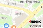 Схема проезда до компании Национальный банк ТРАСТ в Москве