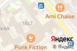 Схема проезда до компании ПРОФФИ в Москве