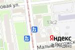 Схема проезда до компании Tai Sin в Москве