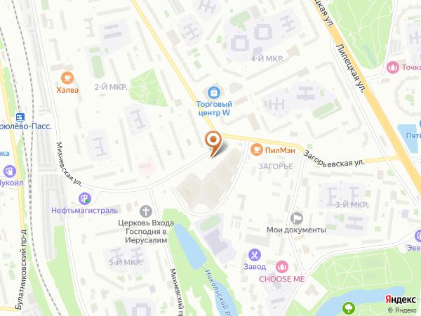 Остановка Бирюлевская ул., 58 в Москве