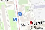 Схема проезда до компании ДэнСтом в Москве