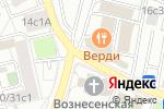 Схема проезда до компании Московский центр лазерных технологий в Москве