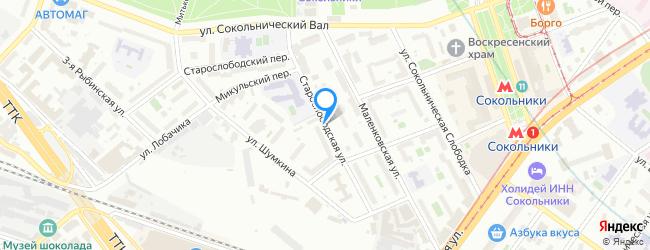 Старослободская улица