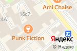 Схема проезда до компании Билони в Москве