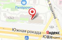 Схема проезда до компании ОптАльянс в Москве
