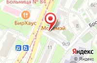Схема проезда до компании Янус-К в Москве