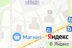 Схема проезда до компании Новинки-2 в Москве