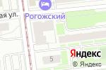 Схема проезда до компании Строй Прогресс в Москве