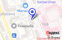 Схема проезда до компании ТПФ АИРКОМ в Москве