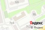 Схема проезда до компании Первое проектно-сертификационное бюро в Москве