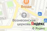 Схема проезда до компании Храм Вознесения Господня на Гороховом поле в Москве